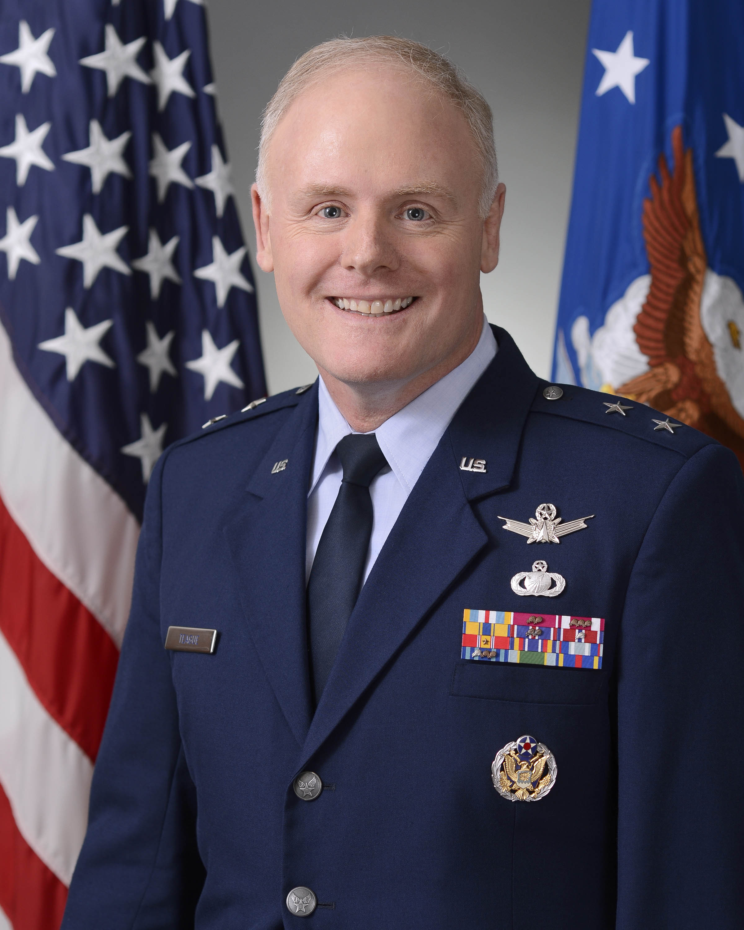 Official Air Force Image: MGen Roger Teague Bio Photo